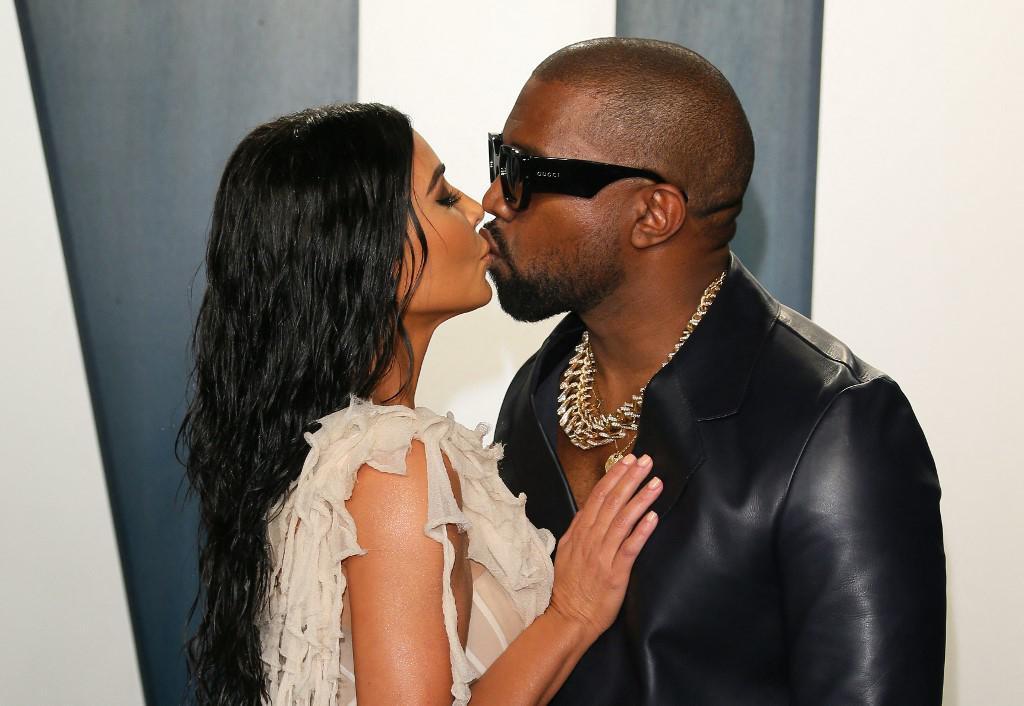 Kim Kardashian i Kanye West slikani 2020. godine