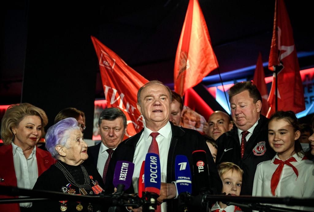Čelnik ruskih komunista Gennady Zyuganov