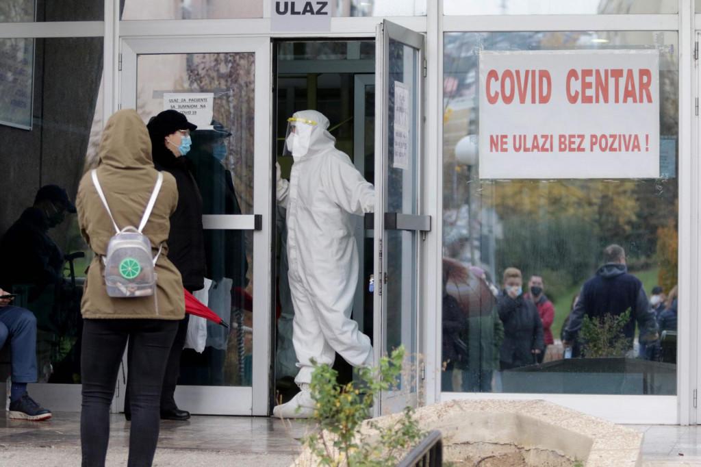 COVID bolnica u Sarajevu