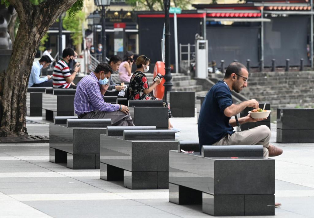 Poslovni distrikt u Singapuru