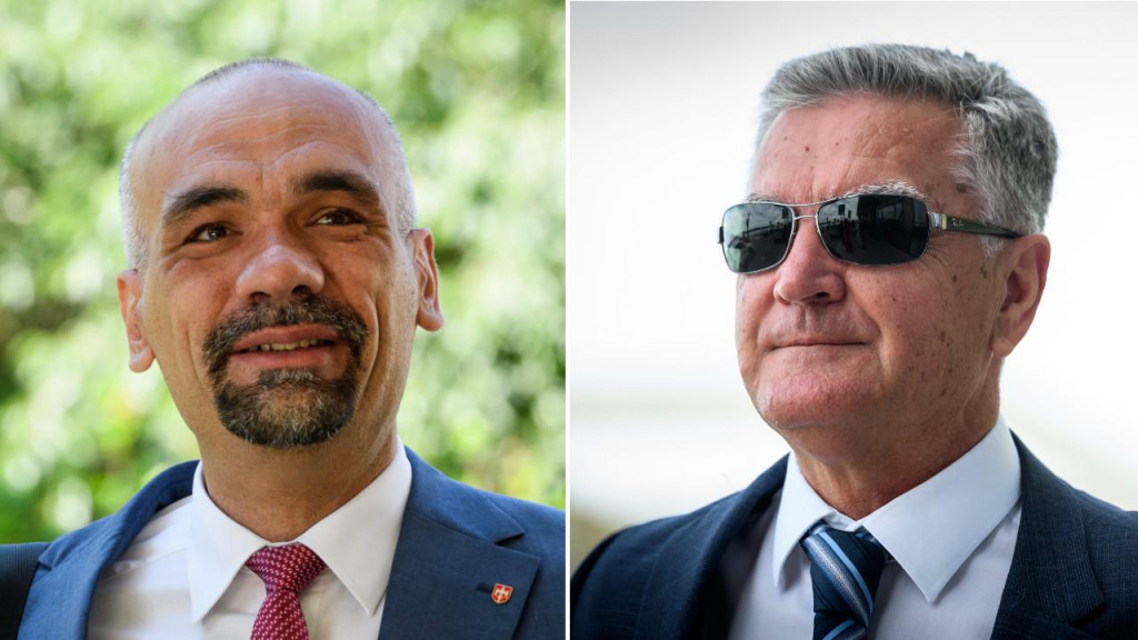 Župan Marko Jelić i gradonačelnik Željko Burić