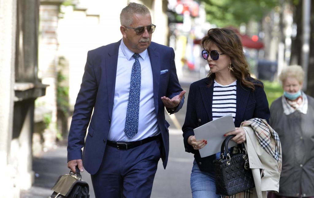 Severina s odvjetnikom Matom Matićem