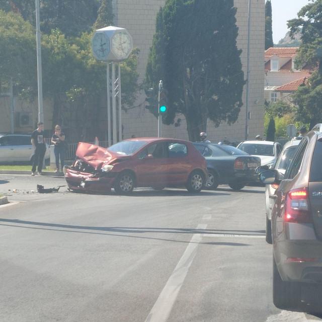 Prometna nesreća na Ilijinoj glavici