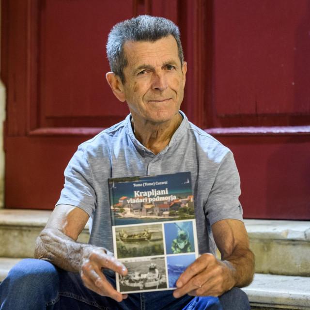 Tome Curavić, autor knjige 'Krapljani vladari podmorja'