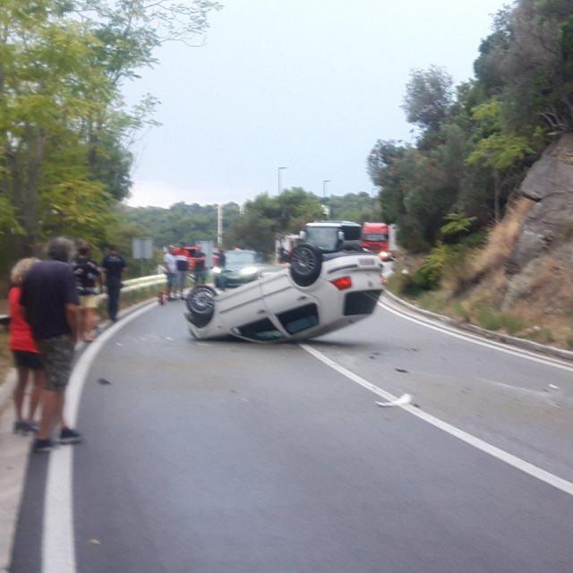 prometna nesreća Zaton