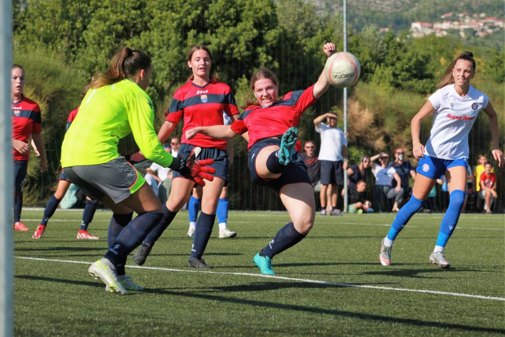 Kup Hrvatske za žene, 1. kolo: Župa dubrovačka - Hajduk (Split)