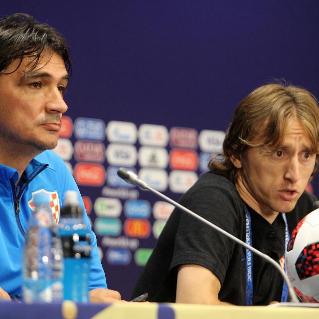 Zlatko Dalić i Luka Modrić