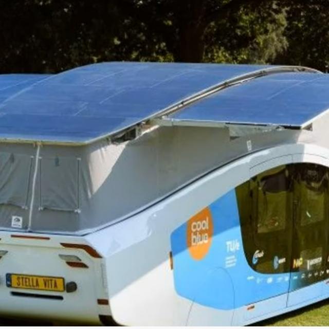 Kad se krov podigne, više solarnih panela može se sklopiti, udvostručivši površinu sunca na čak 17,5 četvornih metara.