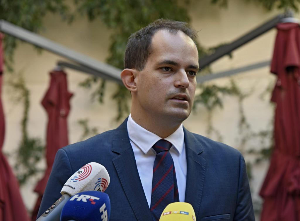 Ivan Malenica, ministar pravosuđa<br />