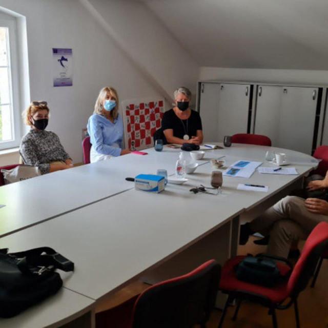 detalj s radnog sastanka u sklopu provedbe projekta WINTER MED