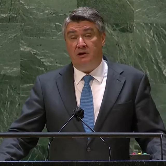 Zoran Milanović u UN-u