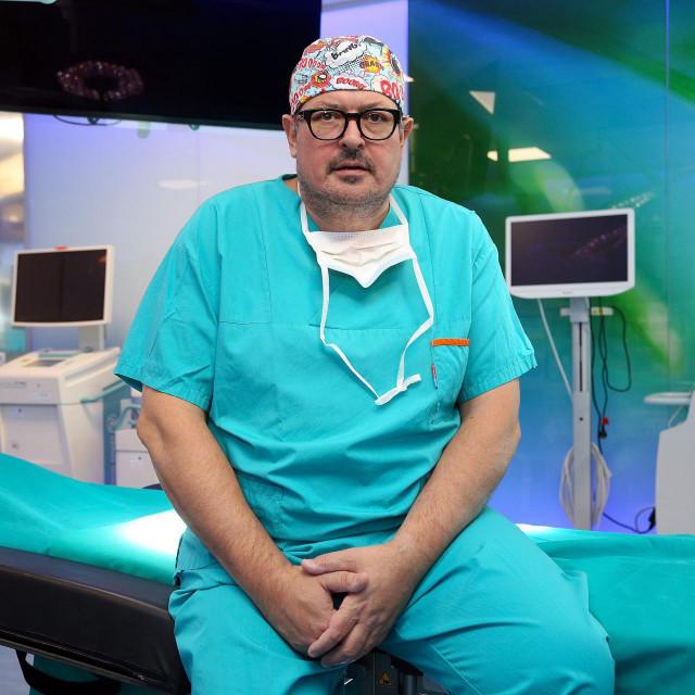 Prof. dr. sc. Dragan Schwarz, ravnatelj specijalne bolnice Radiochirurgia Zagreb