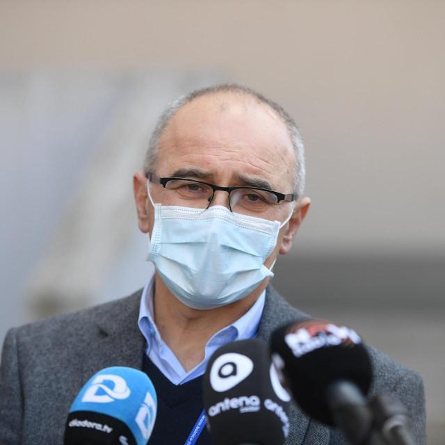 Zeljko Culina, ravnatelj zadarske bolnice.<br />