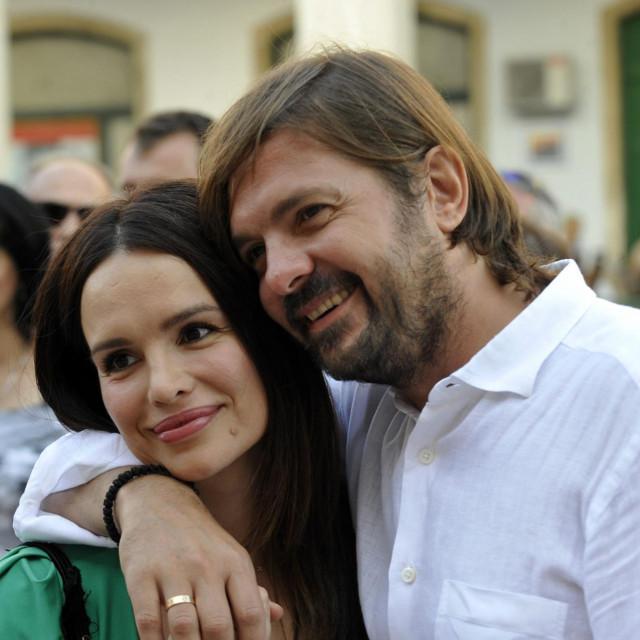 Severina i Milan Popović u danima ljubavne sreće.<br />
