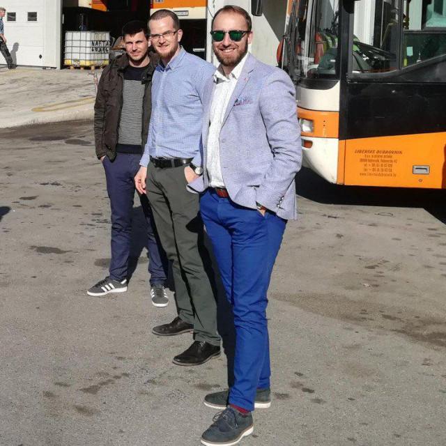 Franko Mekišić (u sredini) novi je direktor JGP Libertas Dubrovnik