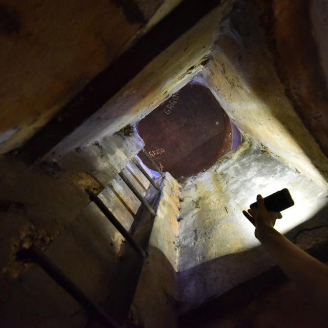 Unutrašnjost bunkera