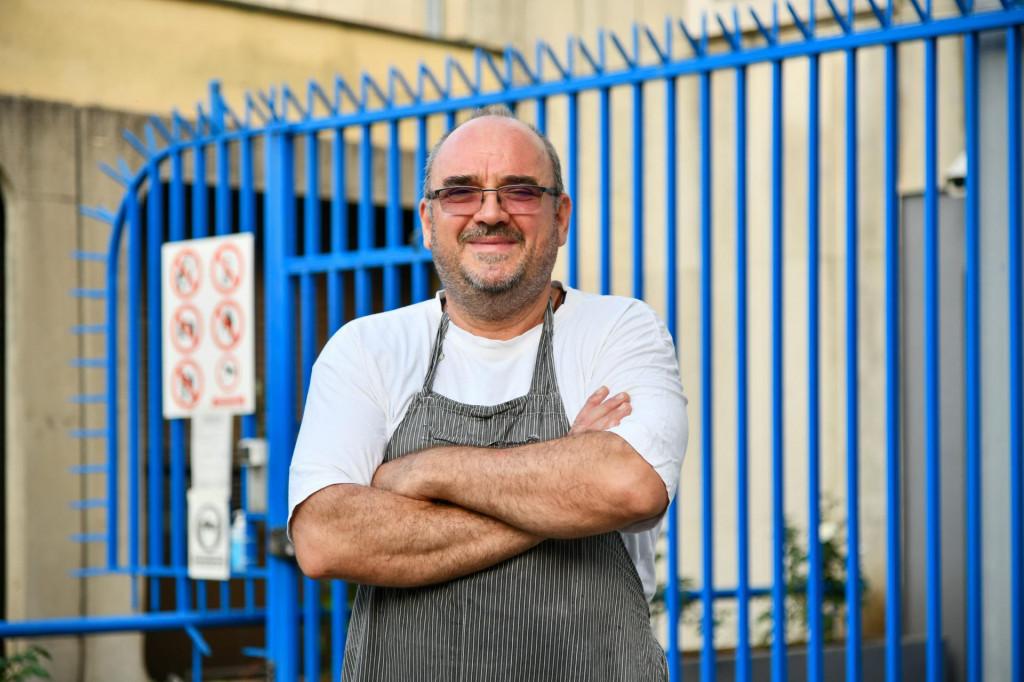 Srđan više od 25 godina radi kao zatvorski kuhar