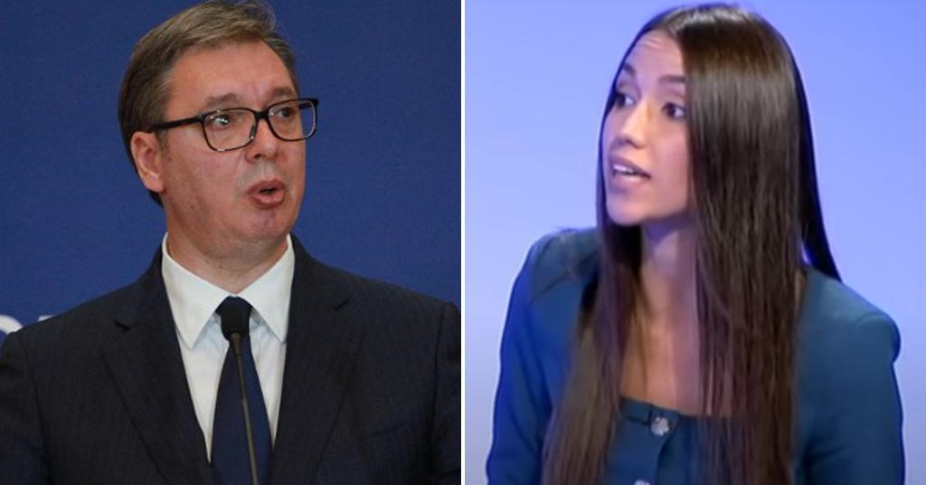 Aleksandar Vučić i Nevena Đurić