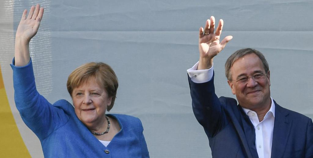 Angela Merkel i lider njemačkog CDU-a, Armin Laschet