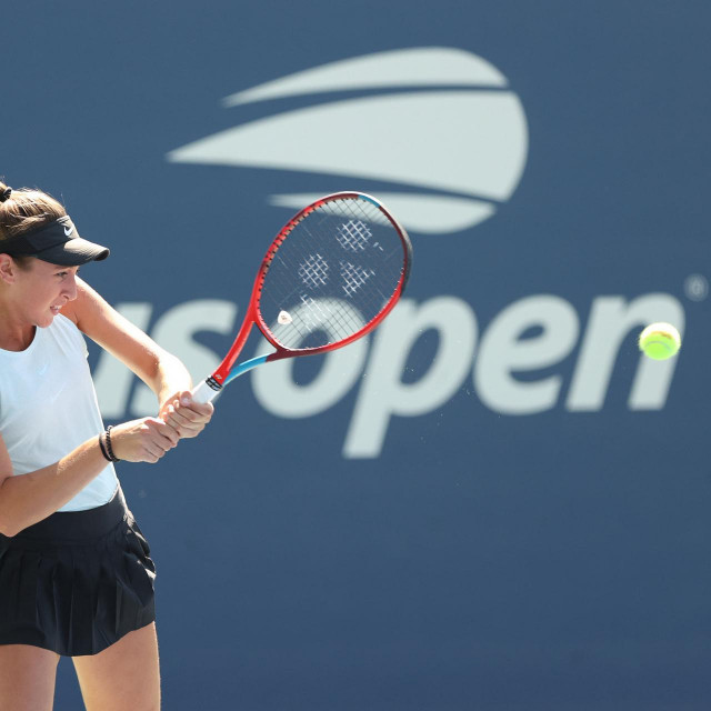 Lucija Ćirić Bagarić na US Openu