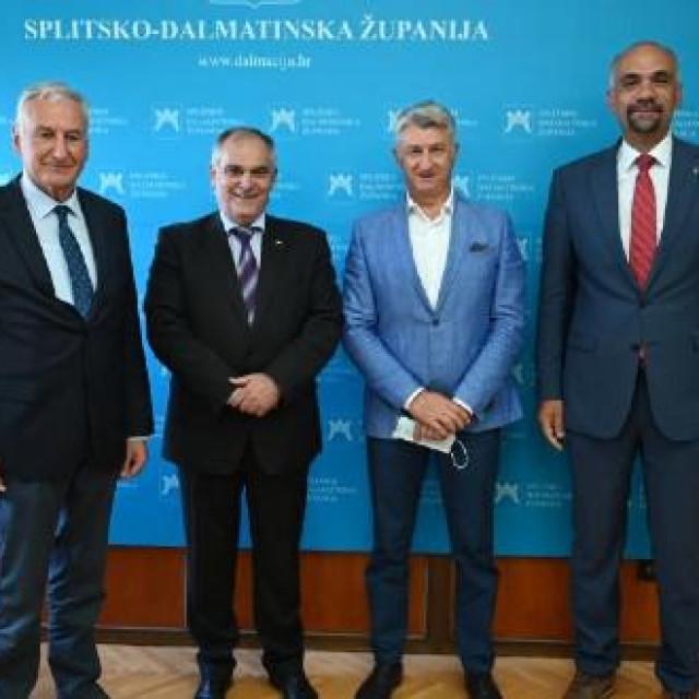 Dalmatinski župani iz Zadra, Šibenka i Dubrovnika odazvali su se pozivu Blaženka Bobana, župana Splitsko-dalmatinske županije