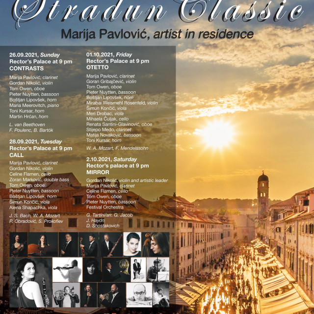 "Festival komorne glazbe ""Stradun Classic"""