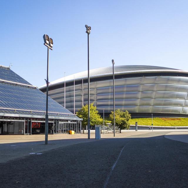Višenamjenska arena Hydro koja će biti jedna od lokacija na kojima će se u Glasgowu odvijati skupovi i događanja 26. UN-ove konferencije o klimatskim promjenama AFP