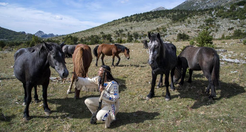 Winnetou na Velikom Rujnu s krdom divljih konja<br />