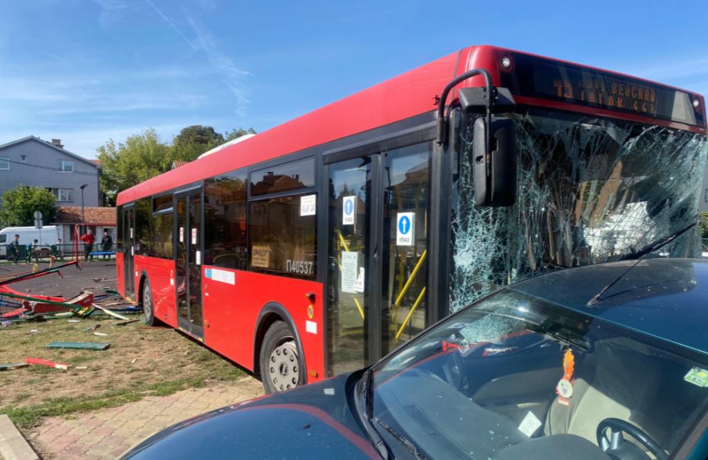 Autobus u Zemunu
