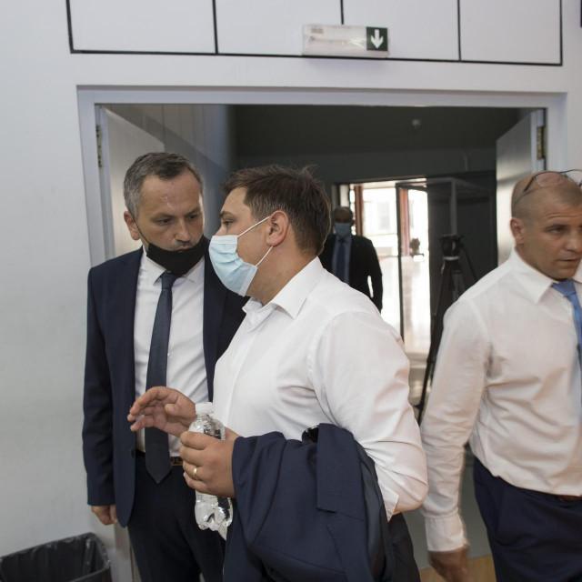 Mate Šimundić, Nikola Grabovac i Marko Žaja