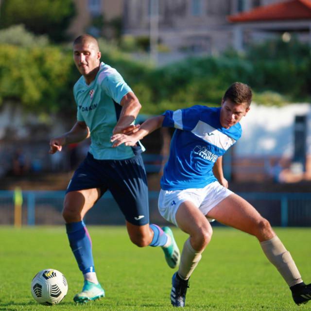 Ivo Caput je bio strijelac za GOŠK Dubrovnik 1919. u 45. minuti za 3:0 protiv Primorca (BNM). Na kraju 3:2 (slika s utakmice protiv Neretve)