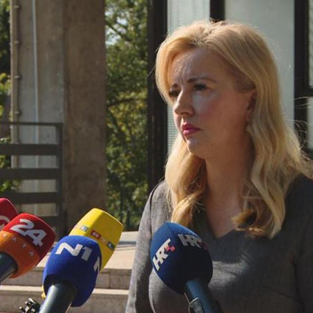 Margareta Mađerić, državna tajnica u ministarstvu<br />
