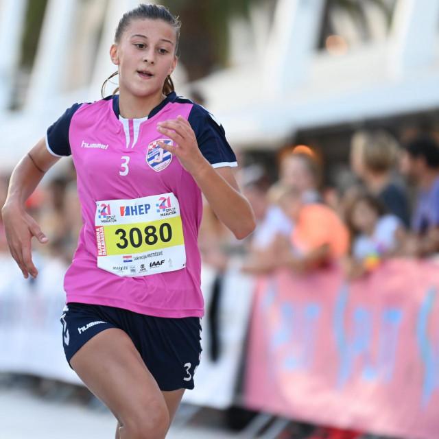 Lukrecija Krstičević, pobjednica u ženskoj konkurenciji