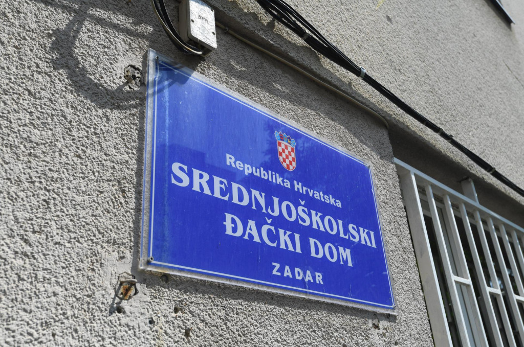 Zadar, 250821.<br /> Srednjoskolski djacki dom u Zadru na Lipotici.<br />