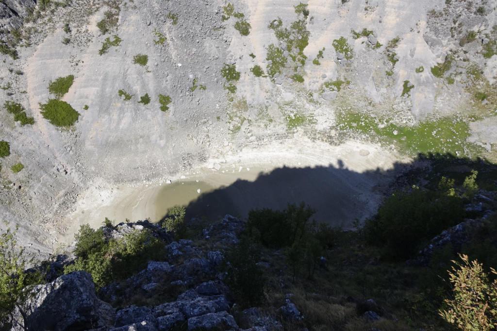 Presušilo Modro jezero
