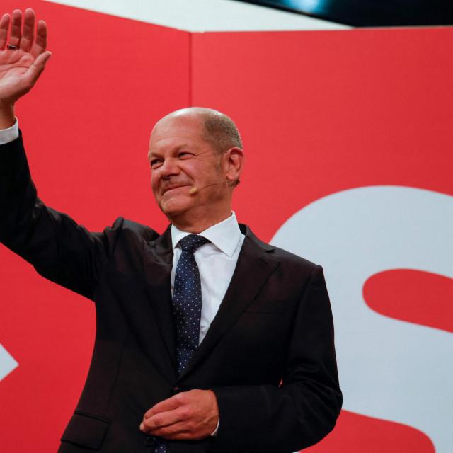 Njemački ministar financija, vicekancelar i SPD-ov kandidat za kancelara Olaf Scholz