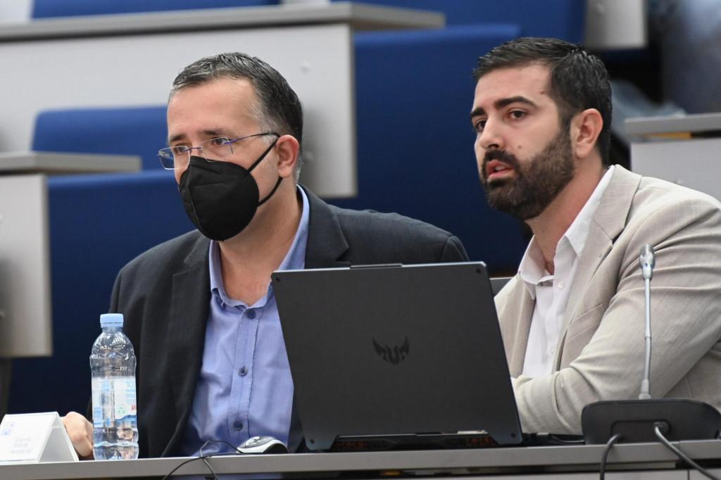 Na fotografiji: Goran Kotur i Davor Matijević