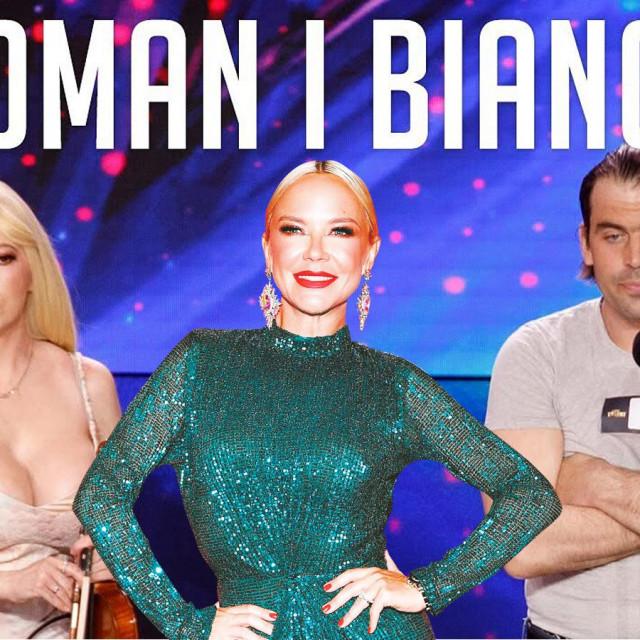 Bianca i Roman nisu oduševili članove žirija i dobili su sva četiri X.