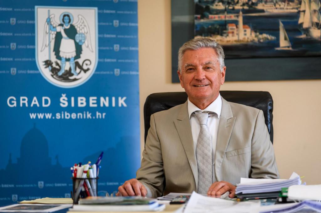 <br /> Željko Burić, gradonačelnik Šibenika