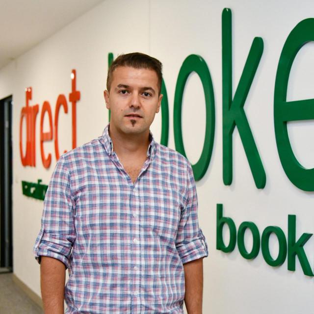 """Nino Dubretić, direktor i osnivač turističke agencije za privatni smjestaj - """"Direct Booker""""<br />"""