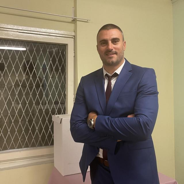 Predsjednik TU Nova Mokošica Boris Čikato