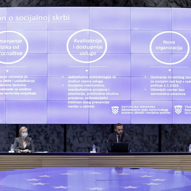 Josip Aladrović predstavlio je Reformu sustava socijalne skrbi<br />