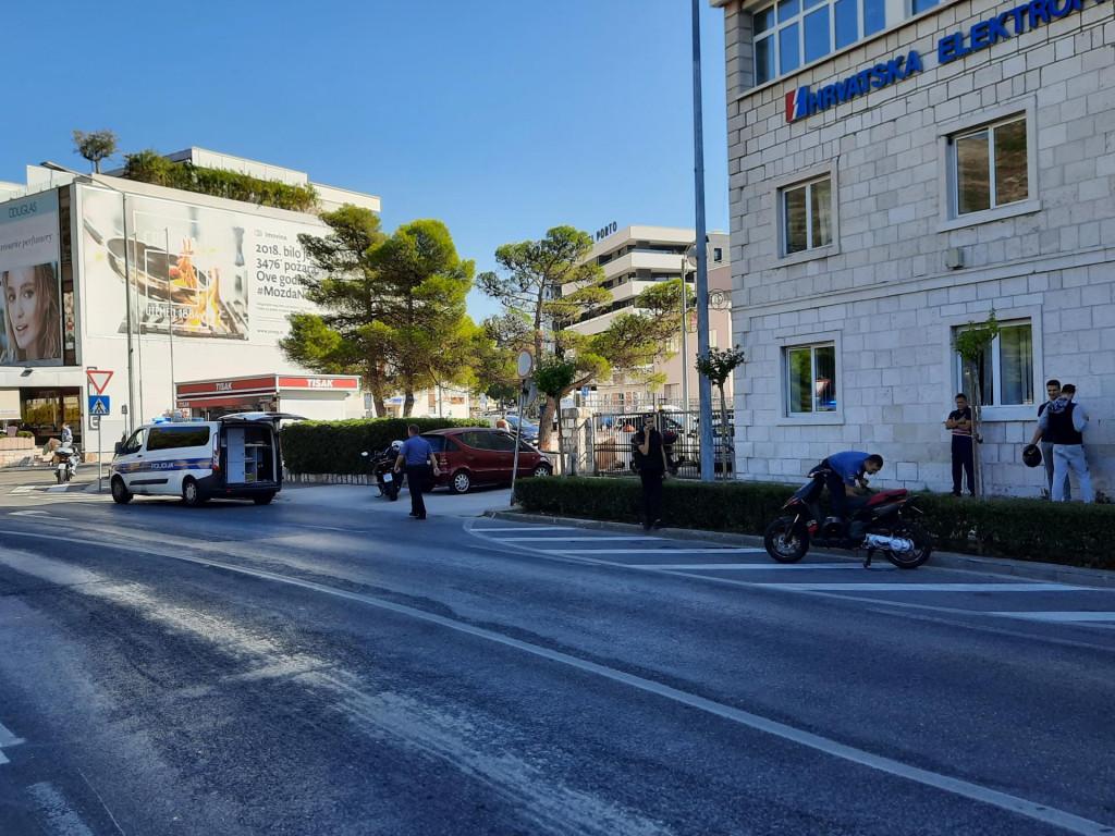 Prometna nesreća ispred Elektrojuga
