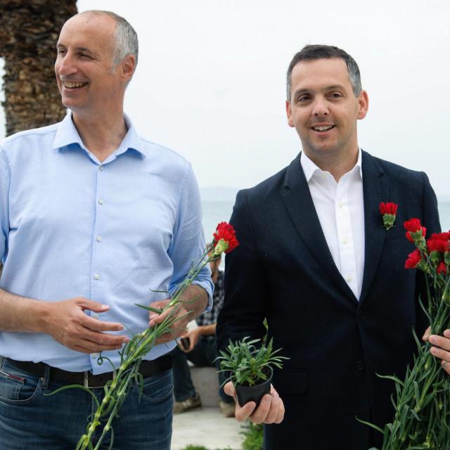 Tko bi rekao da je ova fotografija Puljka i Franića snimljena prije samo pet mjeseci?<br />