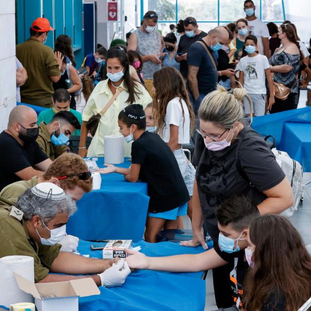 Testiranje u izraelskoj bolnici