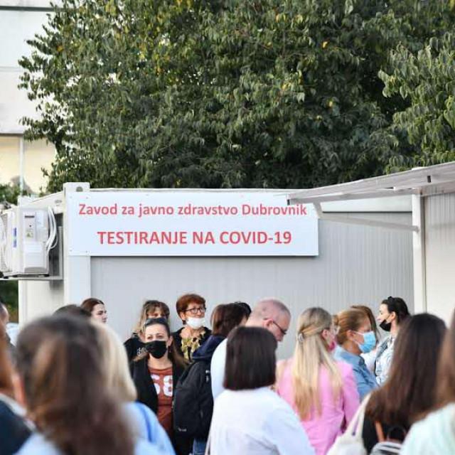 Testiranje u Dubrovniku