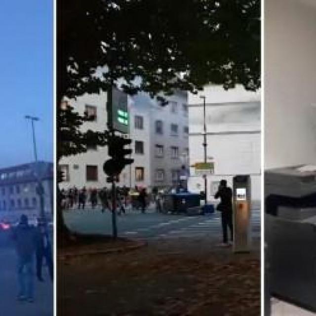 Prosvjedi u Ljubljani