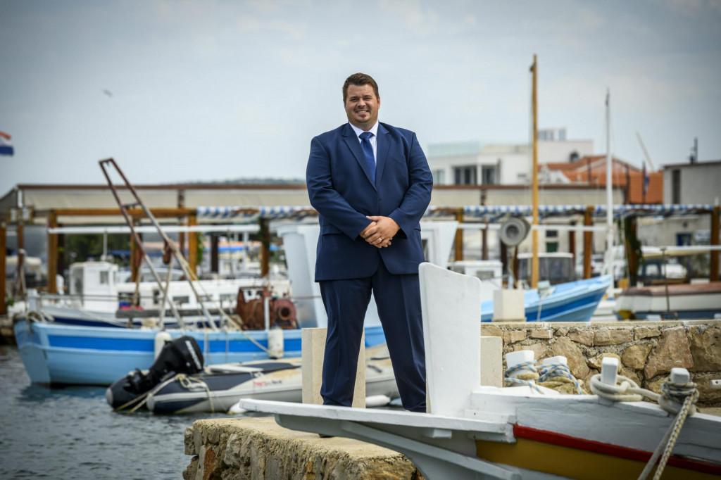 Toni Turčinov, načelnik Općine Murter-Kornati