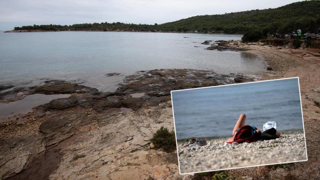 Plaža Kosirina gdje su nepoznati muškarci seksualno uznemiravali kupačice