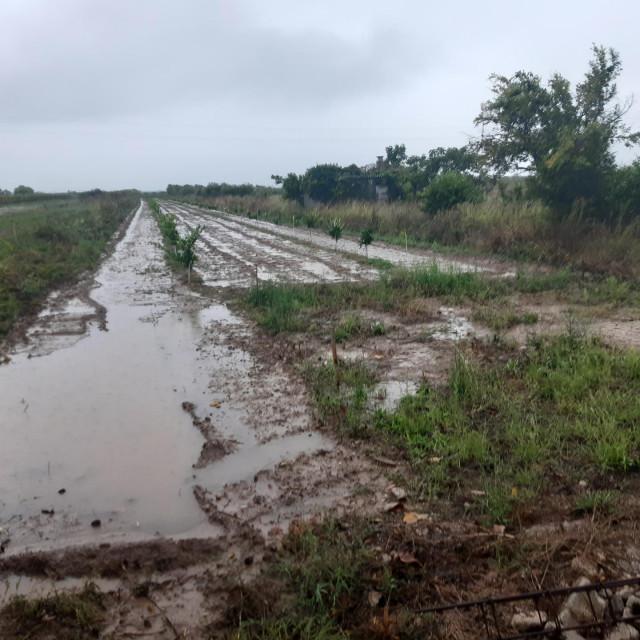 Poljoprivredne površine pod vodom